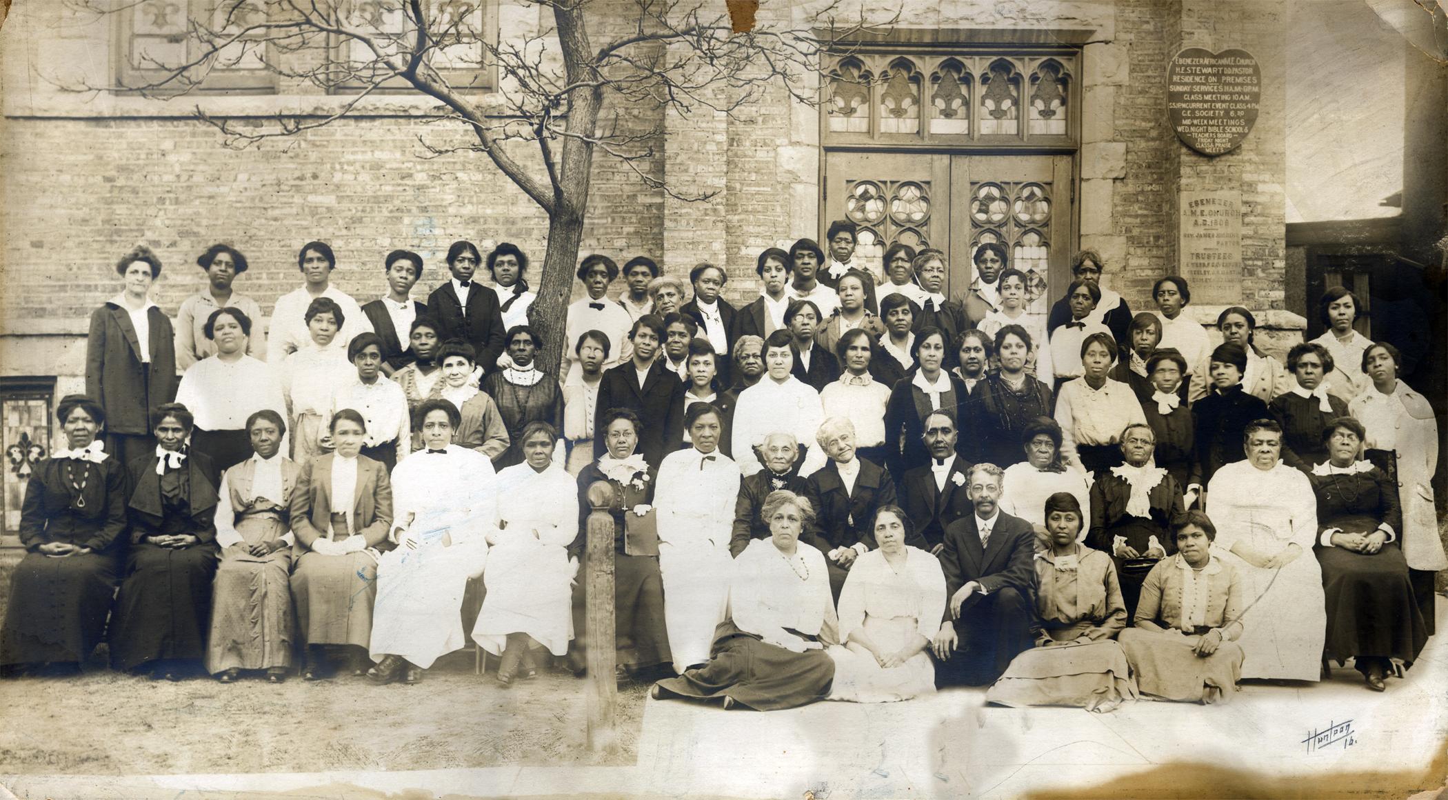 Ebenezer AME Church Sunday School members c1920